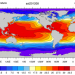 Climate Data Guide Image: COBE SSTs August 2012.