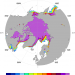 Artic sea ice: AMSR-E / NT2