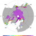 Climate Data Guide Image: Sea Ice Concentration data; Goddard Bootstrap