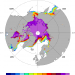 Artic sea ice: NASA Team