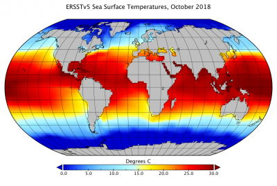 ERSSTv5 climatology (contributed by Z Hausfather)