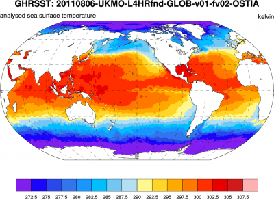 Climate Data Guide Image: GHRSST