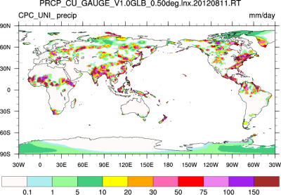 Climate Data Guide: CPC Unified Guage Based precipitation