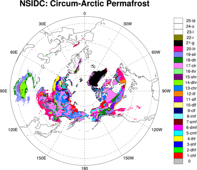 Climate Data Guide Image: Permafriost