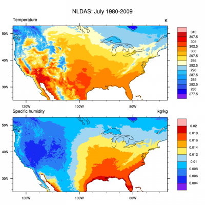 Climate Data Guide Image: NLDAS