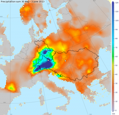 E-OBS_sample_picture_Daily_Precipitation_Amount (contributed by G van Der Schrier)