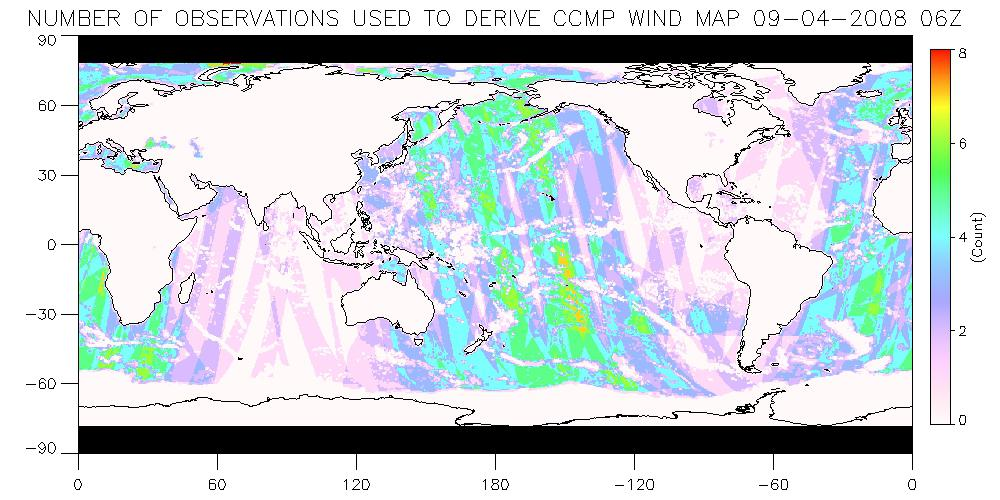 Local Wind Map.Ccmp Cross Calibrated Multi Platform Wind Vector Analysis Ncar