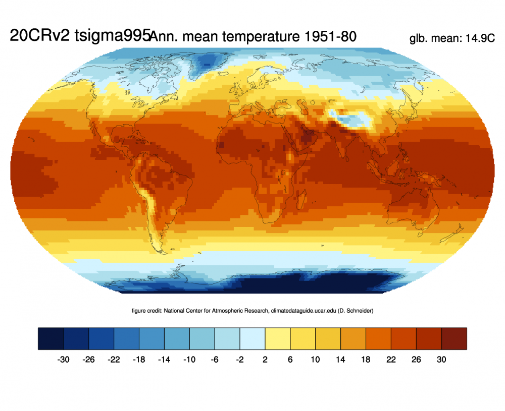 NOAA 20th-Century Reanalysis, Version 2 and 2c | NCAR - Climate Data