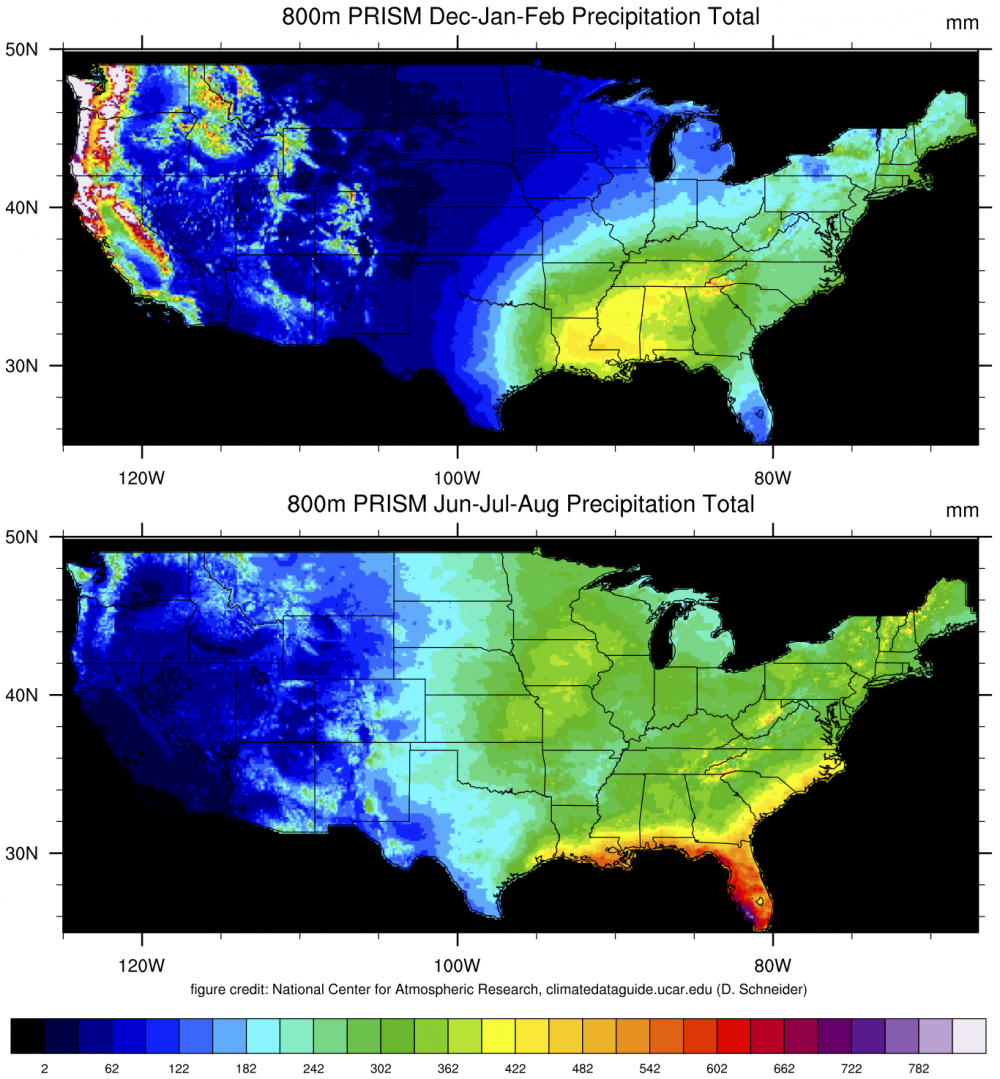 PRISM HighResolution Spatial Climate Data for the United States