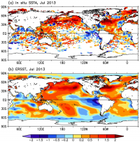 Climate Data Guide ERSST anomalies contributed by B Huang