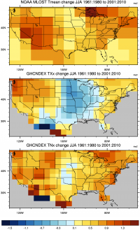 NCAR Climate Data Guide Image using GHCNDEX data.