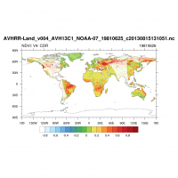 NDVI: Climate Data Record (CDR): June 26, 1981