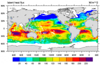 Climate Data Guide Image: GSSTF3 latent heat flux