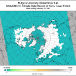 NH Snow Cover Extent, contributed by D. Robinson