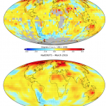 HadCRUT4 and HadCRUT5 temperature anomalies (from CarbonBrief, https://www.carbonbrief.org/analysis-why-the-new-met-office-temperature-record-shows-faster-warming-since-1970s)