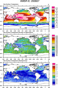Climate Data Guide Image: AMSR-E