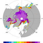 Arctic sea ice: NASA Team