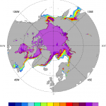 Arctic sea ice: ASI v5.6i