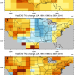 NCAR Climate Data Guide Image using HadEX2 data.