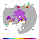 Arctic sea ice: SSMI / NT2