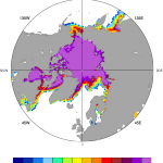 Climate Data Guide Image: HADISST ice concentrations