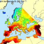 E-OBS_sample_picture_Daily_Maximum_Temperature (contributed by G van Der Shrier)